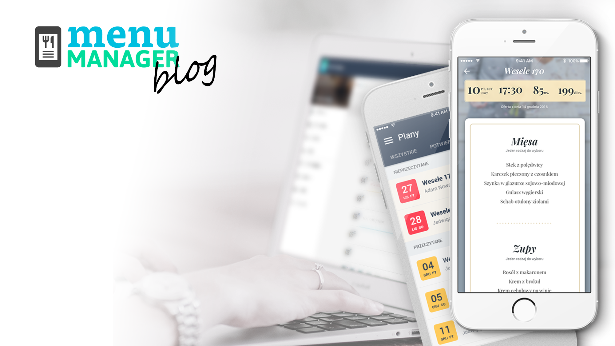 Szybko zaplanujesz i udostępnisz menu online
